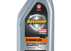 Havoline® Xtended Life Antifreeze/Coolant Concentrate