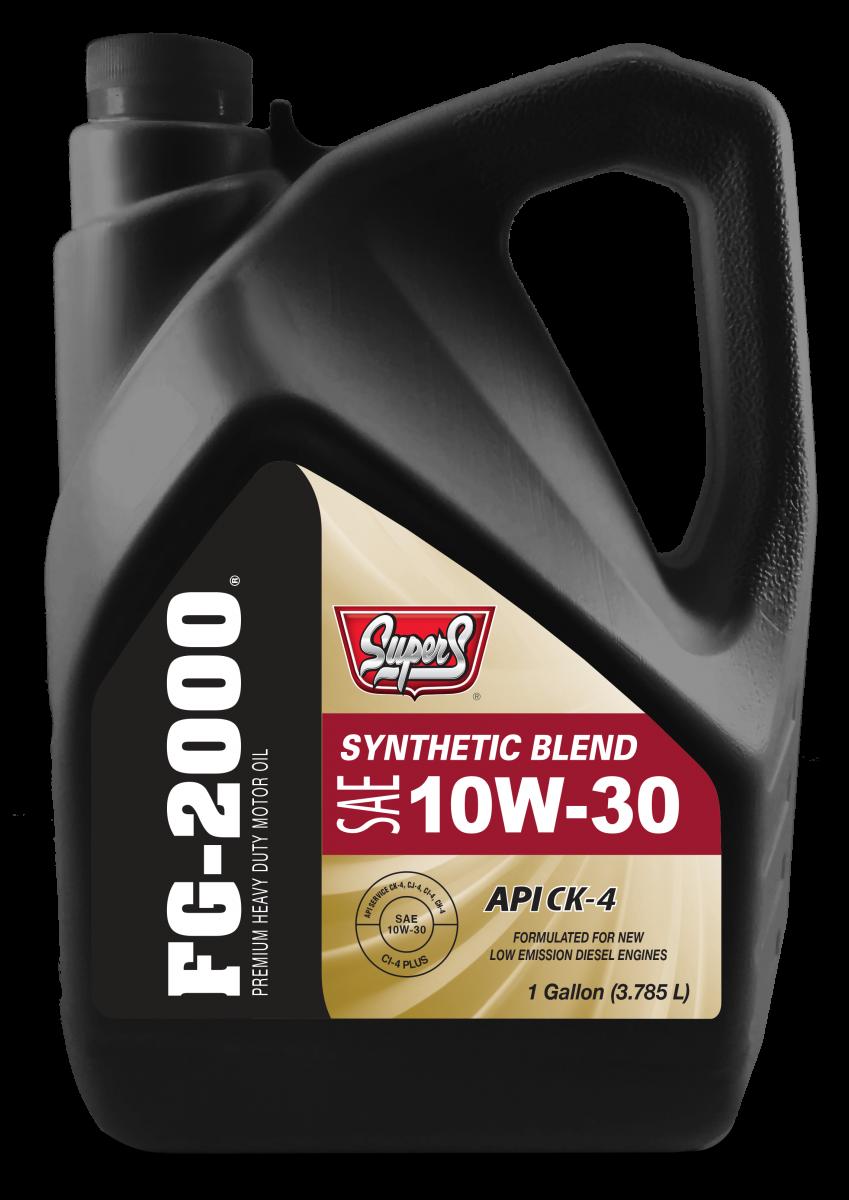 Nhớt dùng cho máy dầu Diesel cao cấp Super S FG2000 10W30